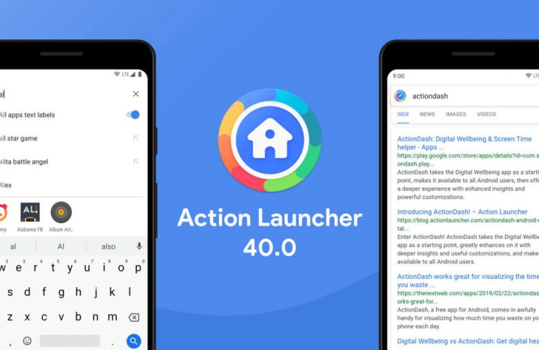 Action Launcher revamp comes with ad-supported searches