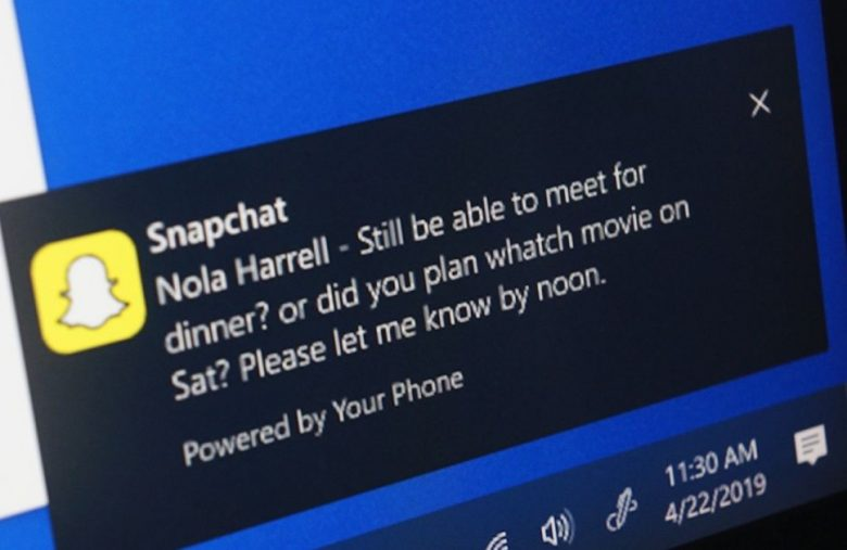 Windows preview brings Android notifications to your PC