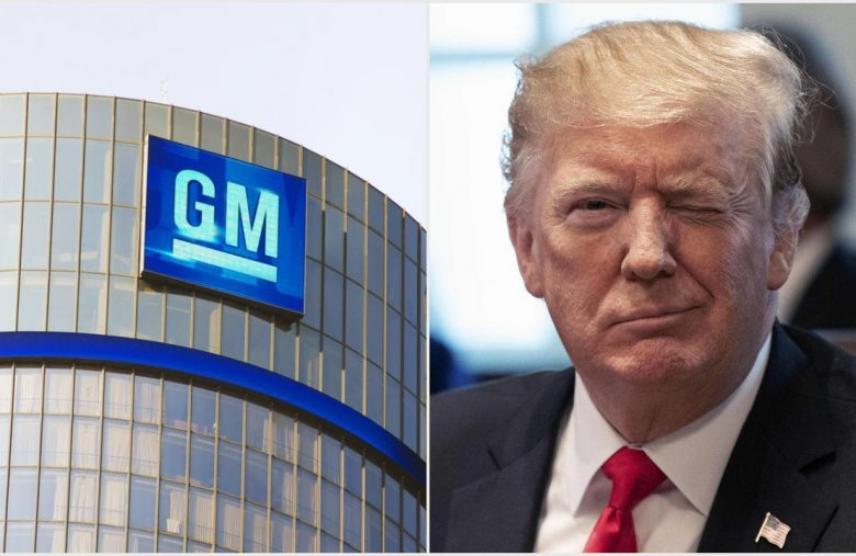 GM Goes MAGA with Job-Producing Plant Sale that Thrills Trump