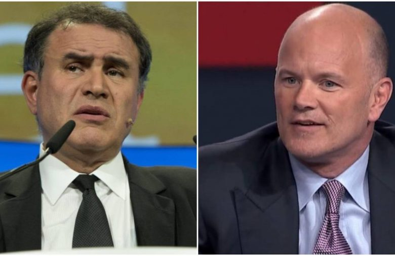 Bitcoin Basher Nouriel Roubini Cowers from Novogratz's Crypto Wager