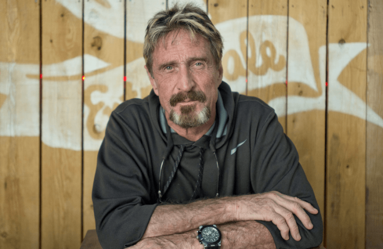Self-Proclaimed Clown John McAfee Offers Cybersecurity Expertise to CZ