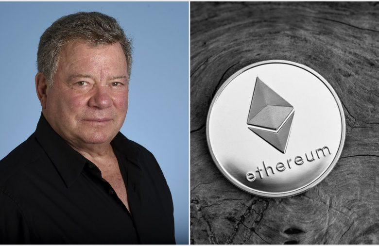 William Shatner Beams Up Ethereum-Based Proof-of-Authenticity Token