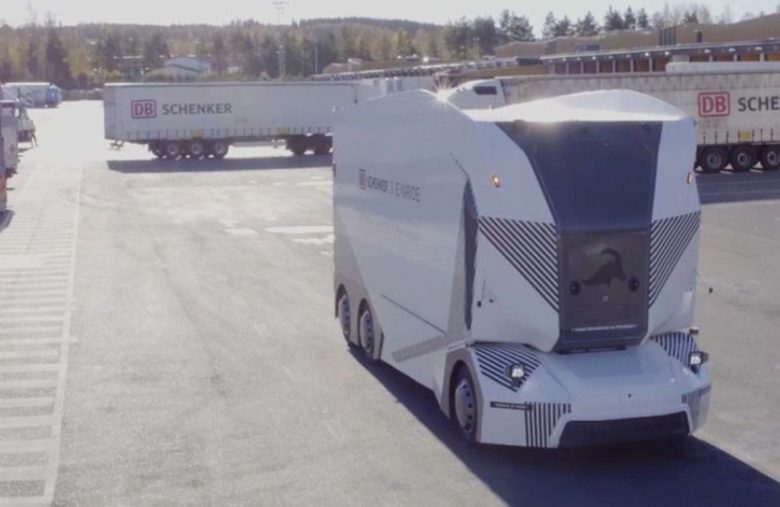 Einride's autonomous truck begins daily delivery test in Sweden