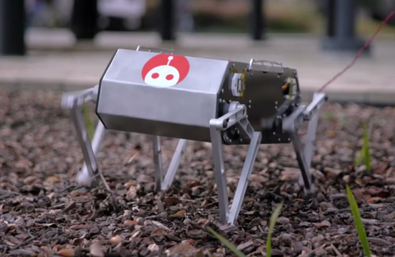 Stanford students' robot dog does backflips for (relatively) cheap