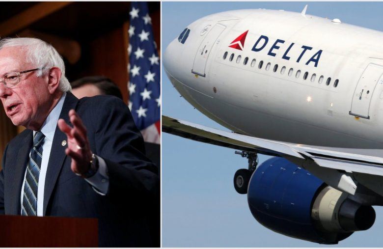 Bernie Sanders Slams Delta Air Lines on Pay, Company's CEO Claps Back