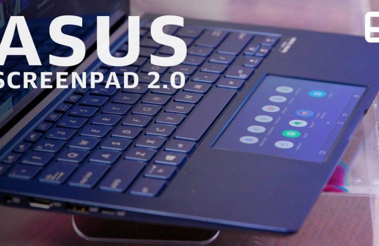 ASUS' redesigned touchscreen trackpad is bigger and more intuitive
