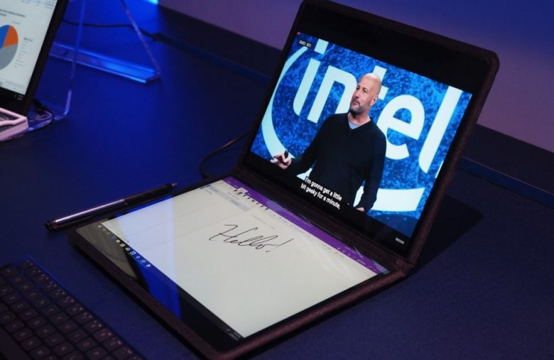 Intel's 2-in-1 prototype proves it has big plans for dual-screen PCs