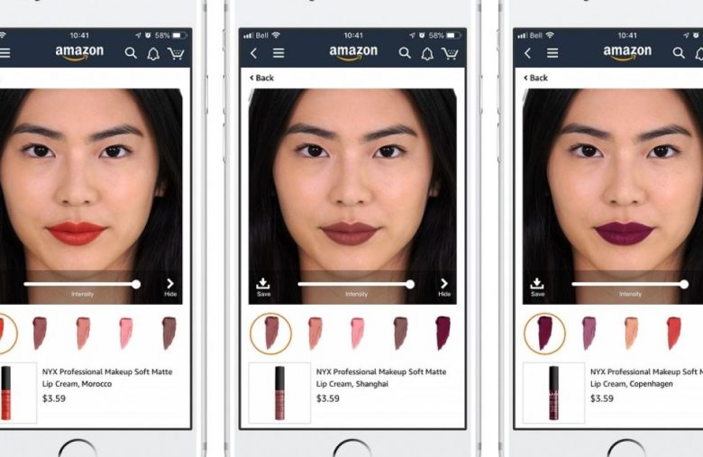 Amazon's 'Live Mode' lets you try on makeup via its app
