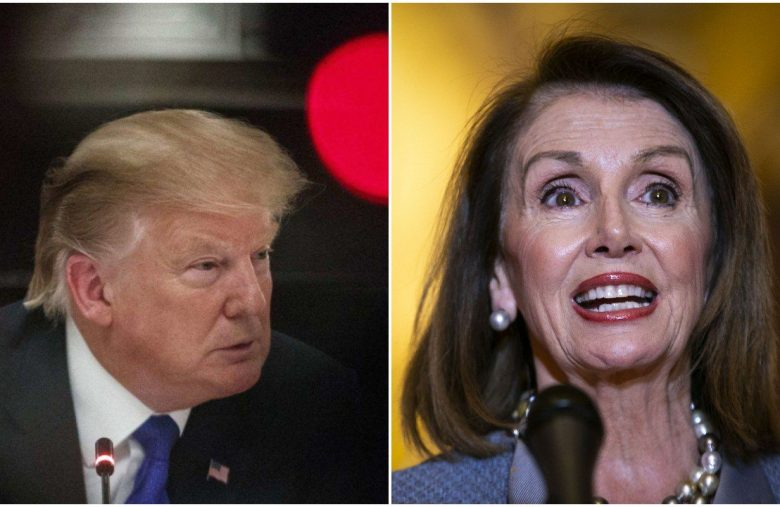 Dow Climbs Nervously as Pelosi Plots Trump Prison Sentence