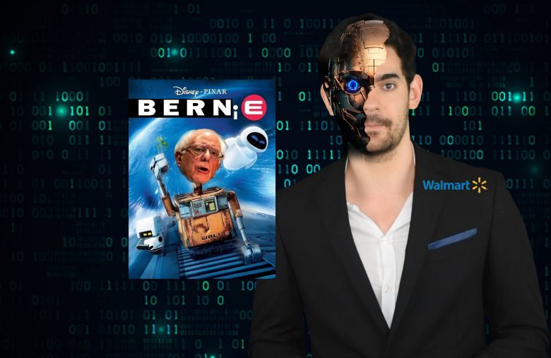 Bernie Sanders and Walmart and Robots, oh my | What a bit