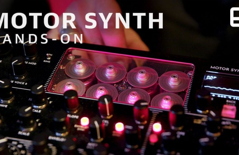 Drone motors make wonderfully grungy synth music