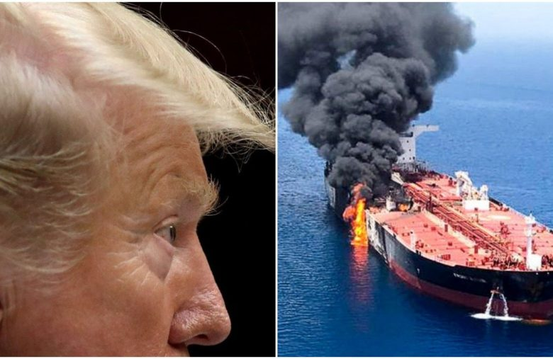 Dow Cowers as Trump Blames Iran for Gulf Tanker Attacks: 'It Was Them'