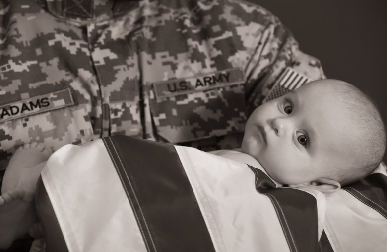 """Gotta Recruit 'em While Their Skulls Still Soft"": U.S. Army Promotes Toddler in Army Helmet singing ""the Army Song"""