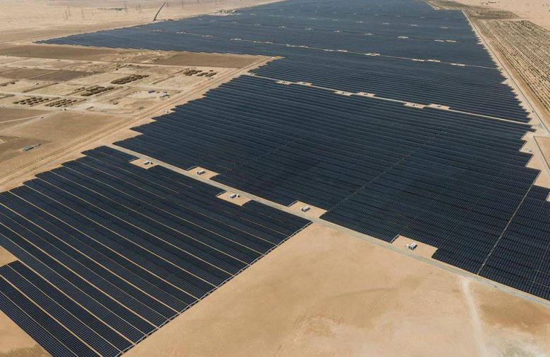 UAE debuts the world's largest individual solar power project