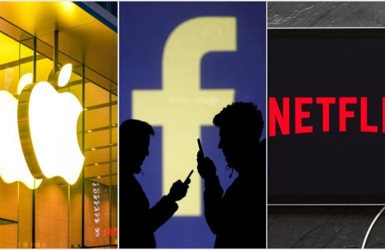 Apple, Facebook and Netflix Poised to Take Out All-Time Highs