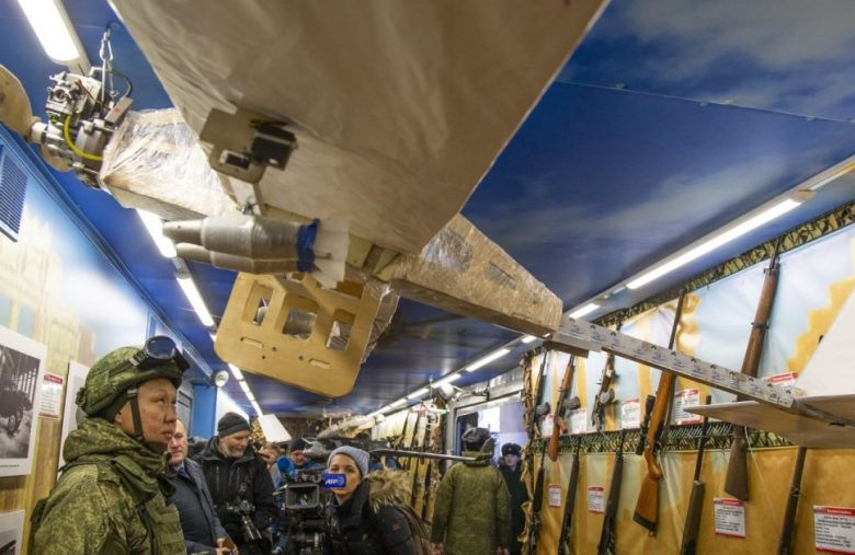 Russia says it will give soldiers bomb-carrying drones