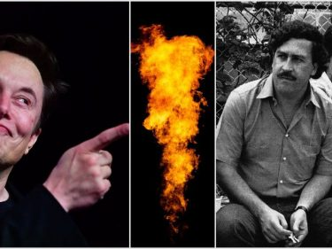 Elon Musk Fires Back At Pablo Escobar Family In Flamethrower War