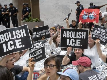 POLICE: 16 Arrested in Phoenix ICE Protest — Cops Assaulted