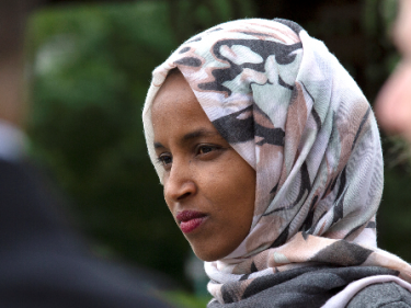 Ilhan Omar to Trump: 'You Are Stoking White Nationalism'