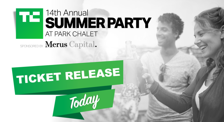 Final tickets to our 14th Annual TechCrunch Summer Party