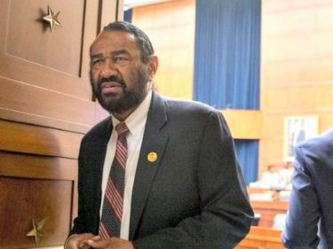 Al Green to Introduce Bill Asking for More Security for House Members