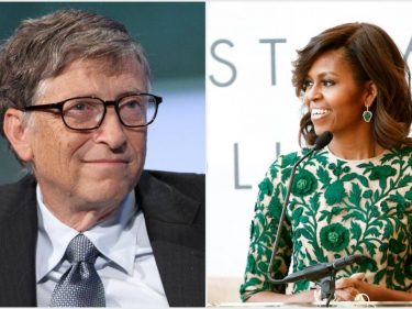 Bill Gates & Michelle Obama Are Most Admired but Who Are Top Earners?
