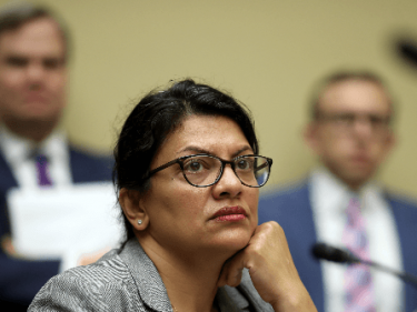 Video of 'Knucklehead' Rashida Tlaib Being Forcibly Ejected by Security from 2016 Trump Detroit Speech Resurfaces