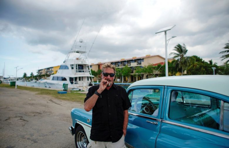 John McAfee Is Seemingly Missing & Secret Data Time-Bomb Is Ticking