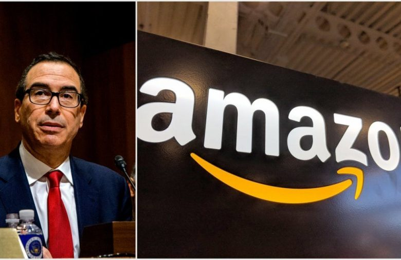 Treasury Secretary Supports DOJ's Decision to Probe Amazon's Monopoly