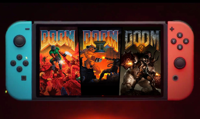 Old-school Doom and its sequels come to Switch, Xbox One, and PS4
