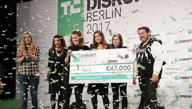 Applications are open for Startup Battlefield at TechCrunch Disrupt Berlin 2019