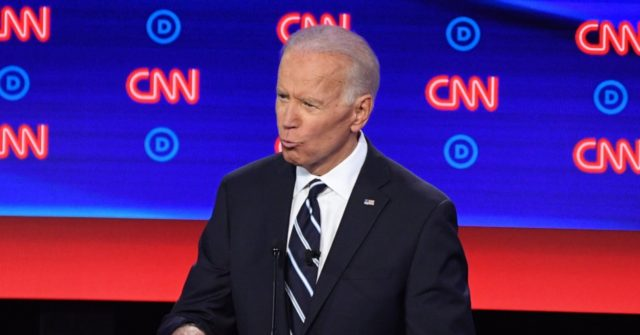 Joe Biden at Democrat Debate: Eliminate Coal, Fracking, Fossil Fuels