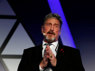 John McAfee Makes Desperate Plea to Keep WhatsApp Encrypted