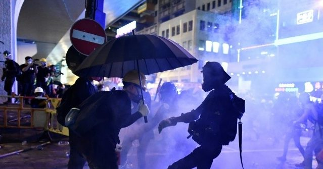 China Releases Military Video Warning Hong Kong Protesters of 'Consequences'