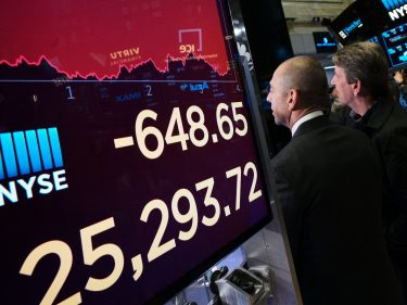 Dow Implodes After China Bares Its Trade War Fangs