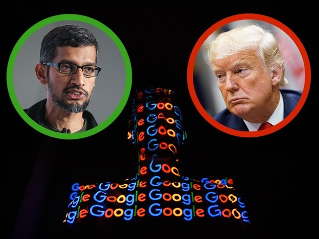 Donald Trump: 'We Are Watching Google Very Closely!'