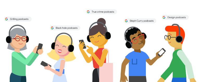 Google adds playable podcast episodes to search results