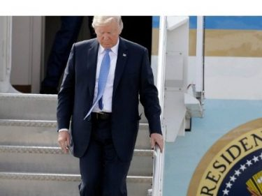 Donald Trump Visits Shooting Victims, First Responders in El Paso