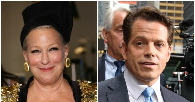 Bette Midler Defends Scaramucci: We All Know Trump Is a 'Racist, White Supremacist Nutjob'