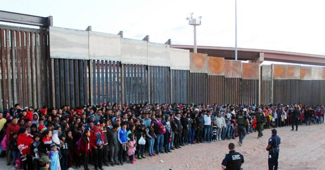 Migrant Family Apprehensions at Border Up 450 Percent in 2019