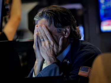 Dow Plunges 400 Points as Haven Demand Fuels Gold & Treasuries
