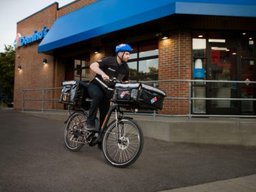 Domino's launches e-bike delivery to compete with UberEats, DoorDash