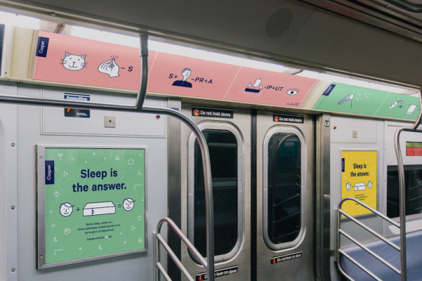 Why startups ads are taking over the subway