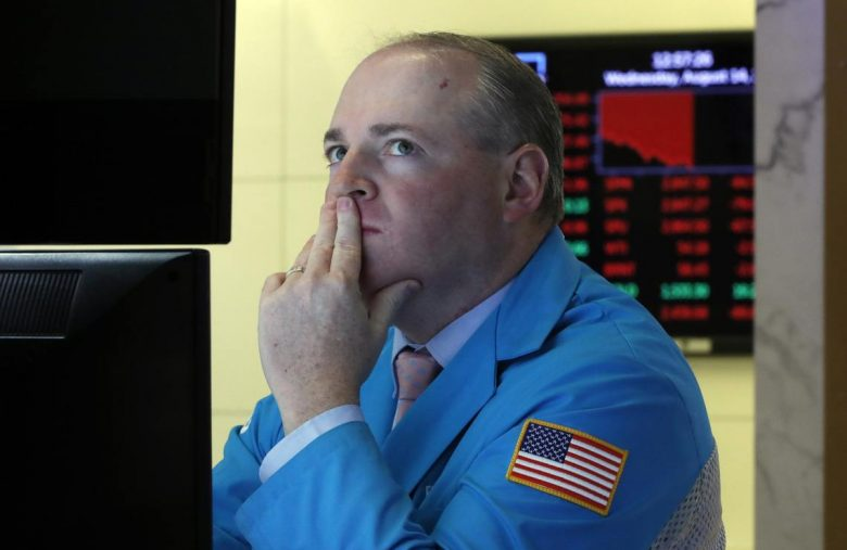 Dow Bounces But Jackson Hole & Plunging Sentiment Stalk US Stocks