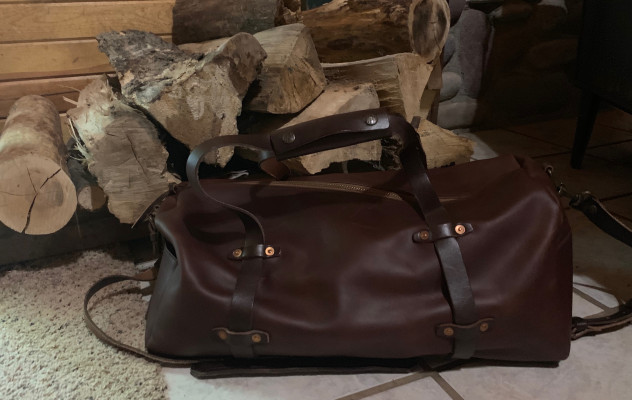 WP Standard's Weekender leather duffle is built for life