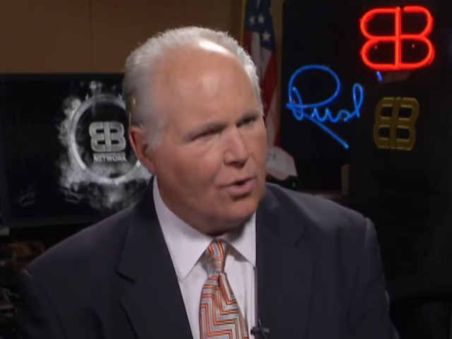 Limbaugh: 'I Think Trump Is Already Reelected'