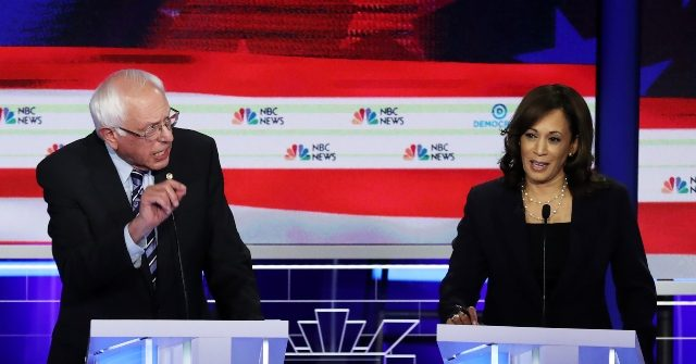 Bernie Sanders Busts Kamala Harris for Bashing His Medicare for All Plan in Front of Big Donors