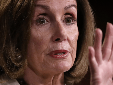 Nancy Pelosi Calls on Democrats to 'Throw a Punch for the Children'