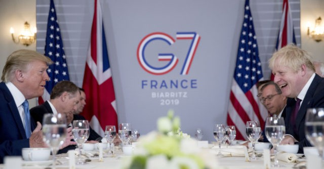 G7: Trump Says Boris 'Right Man for the Job' on Brexit, Both Hail UK-U.S. Deal