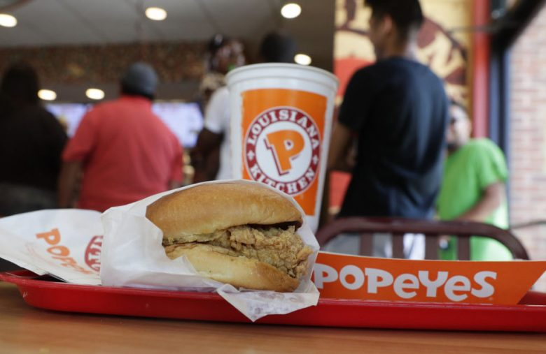 Popeyes pushes its mobile app as a way to find the sold-out chicken sandwich